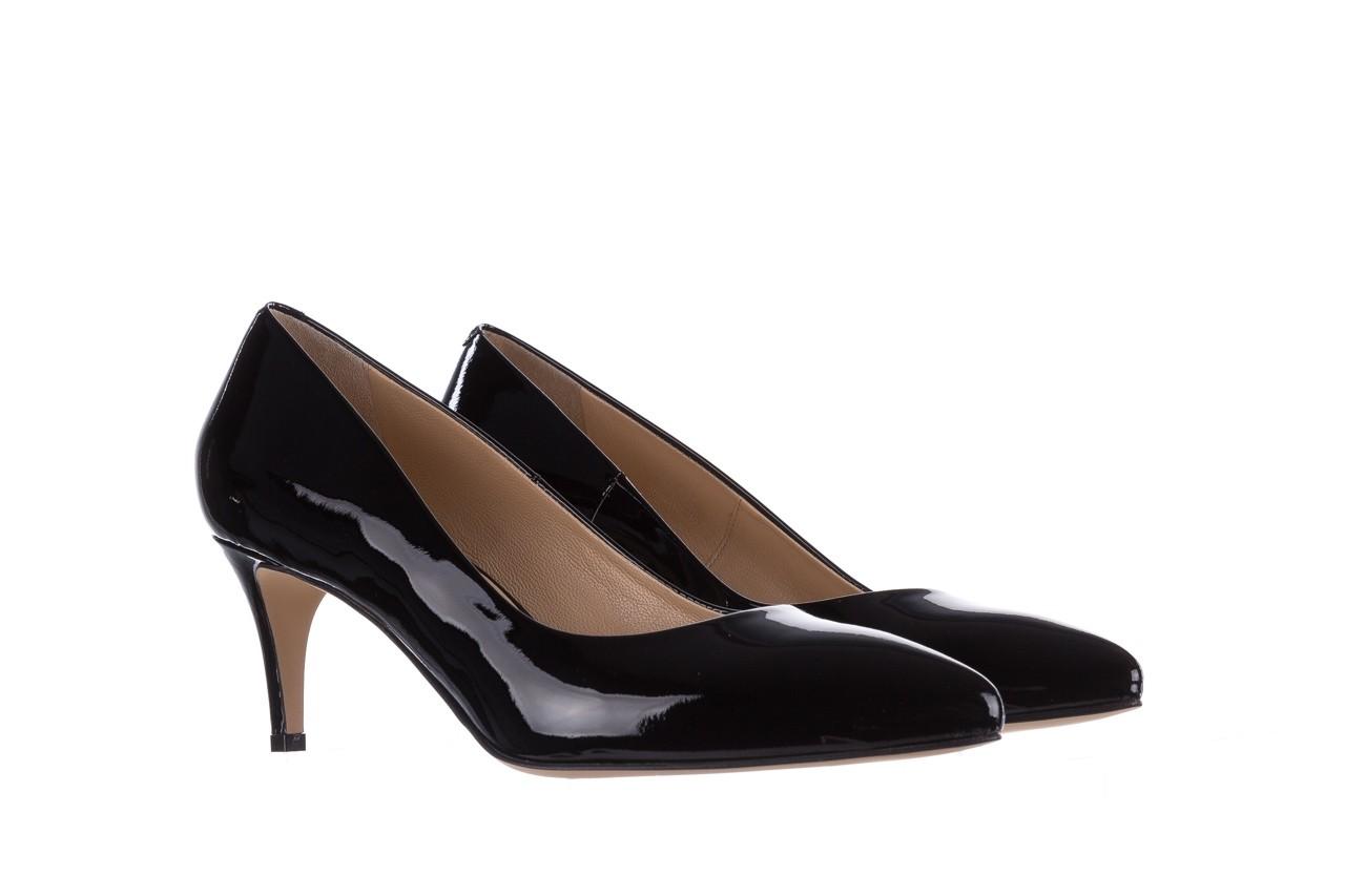 Czółenka bayla-182 6168 czarny lakier, skóra naturalna lakierowana  - skórzane - szpilki - buty damskie - kobieta 7