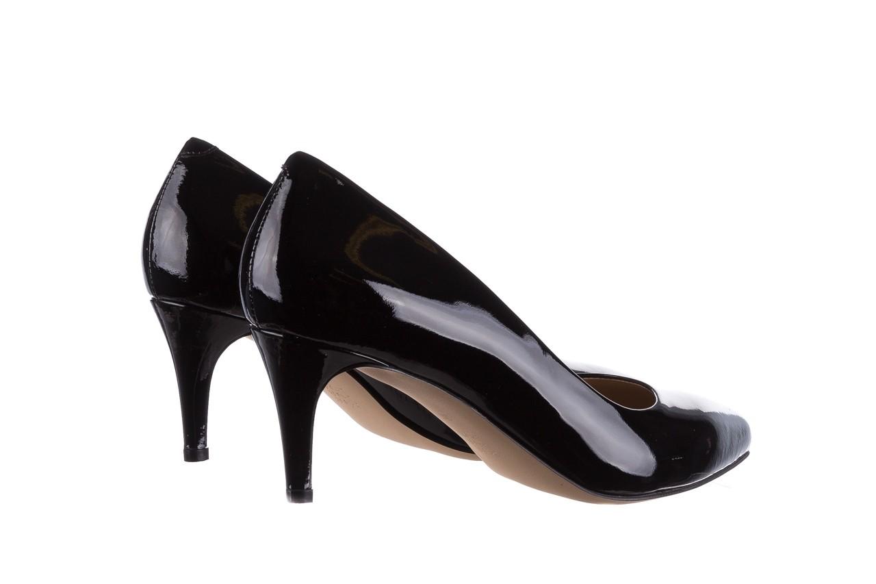 Czółenka bayla-182 6168 czarny lakier, skóra naturalna lakierowana  - skórzane - szpilki - buty damskie - kobieta 9