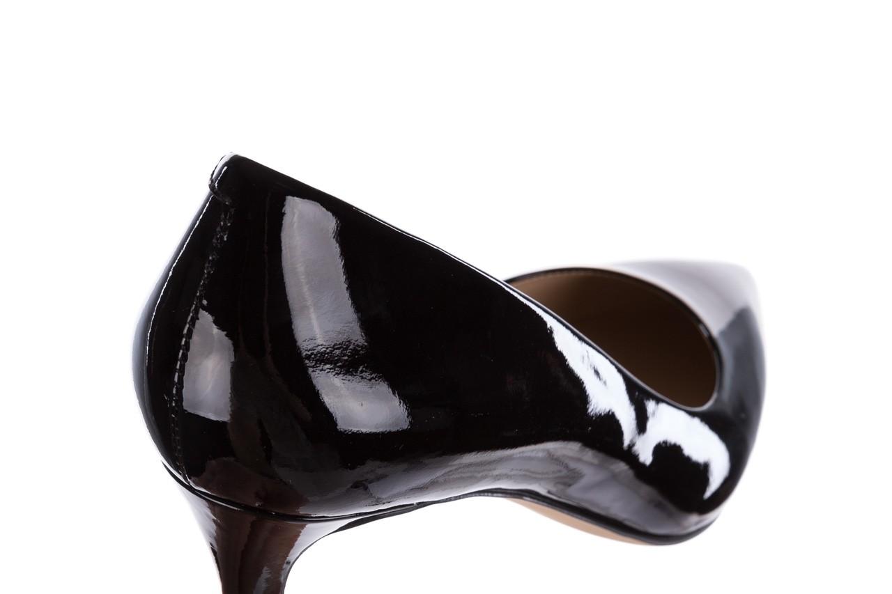Czółenka bayla-182 6168 czarny lakier, skóra naturalna lakierowana  - skórzane - szpilki - buty damskie - kobieta 11