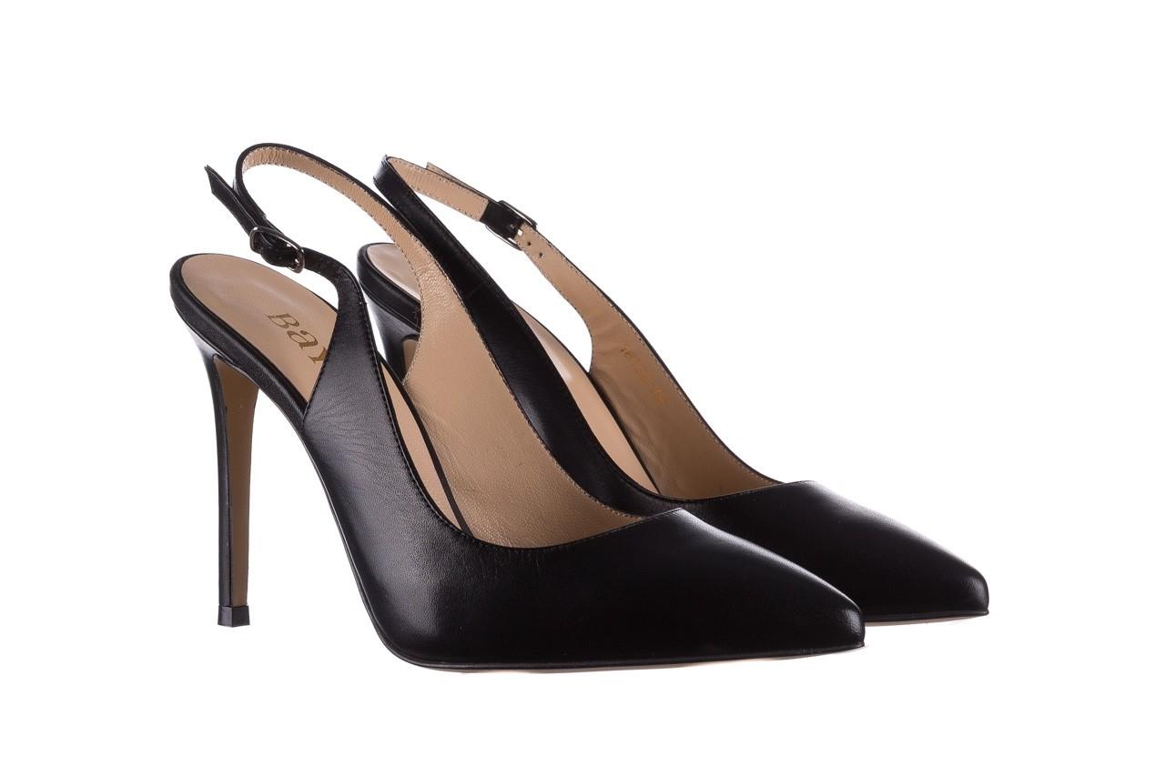Sandały bayla-182 18122 czarne lico, skóra naturalna  - skórzane - szpilki - buty damskie - kobieta 7
