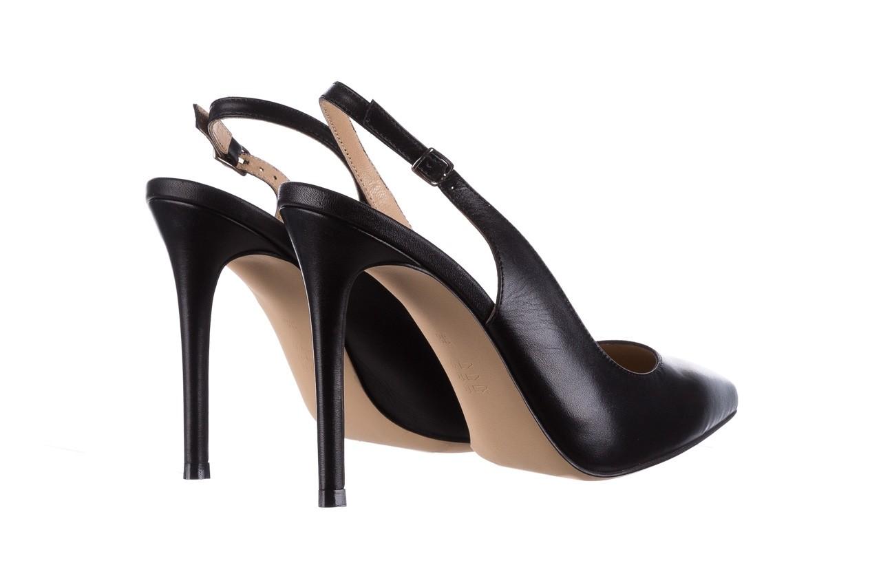 Sandały bayla-182 18122 czarne lico, skóra naturalna  - skórzane - szpilki - buty damskie - kobieta 9
