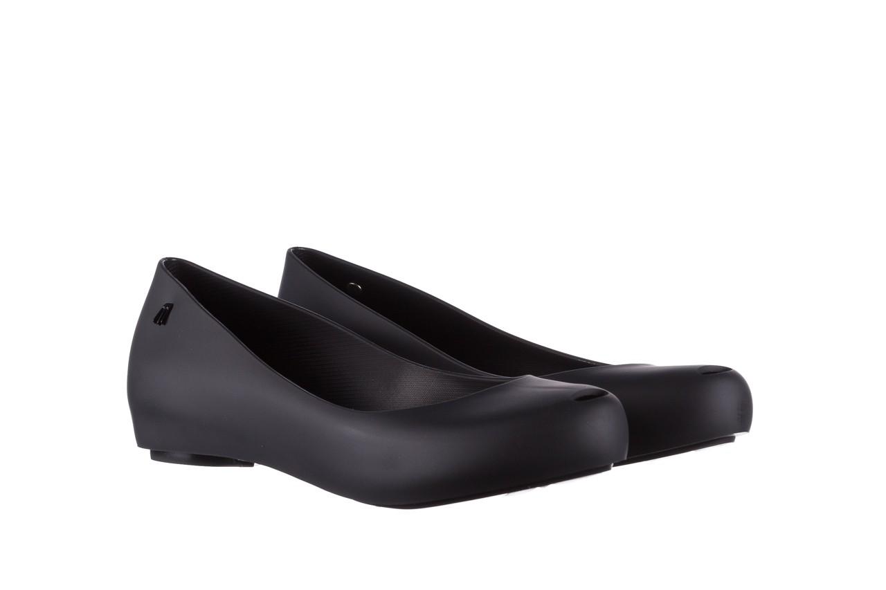 Baleriny melissa ultragirl basic ad black 19, czarny, guma - peep toe - baleriny - buty damskie - kobieta 8