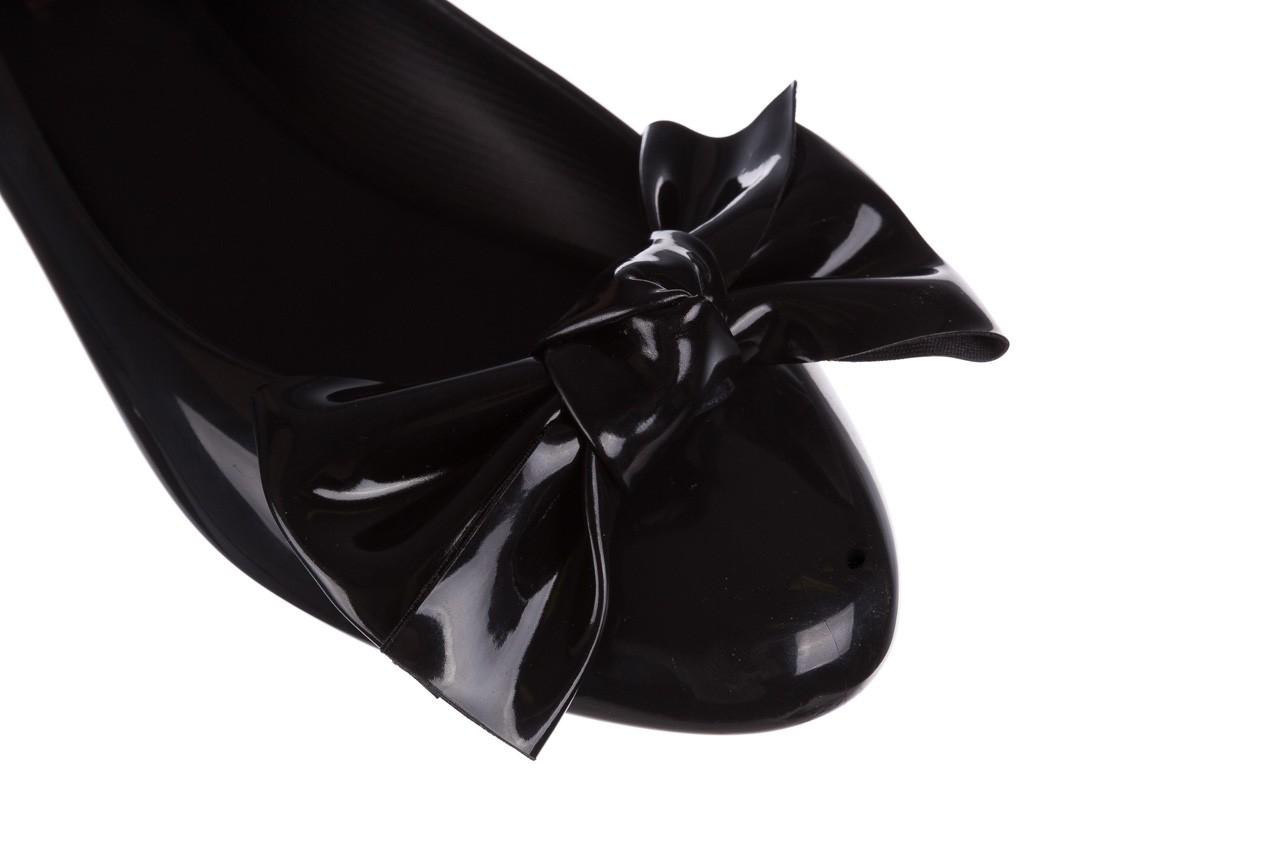 Baleriny melissa doll fem ii ad black 19, czarny, guma - melissa - nasze marki 12