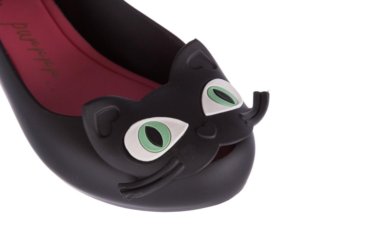 Baleriny melissa ultragirl cat ii ad black pink, czarny, guma 11