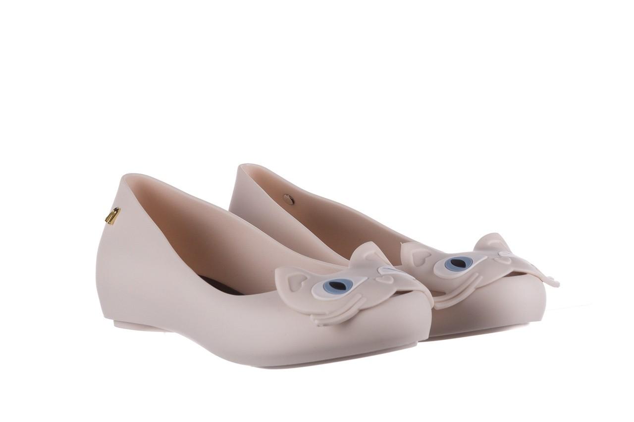 Baleriny melissa ultragirl cat ii ad beige black, beż, guma - melissa - nasze marki 8