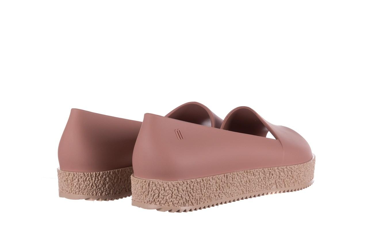 Baleriny melissa puzzle ad pink beige, róż, guma - melissa - nasze marki 11