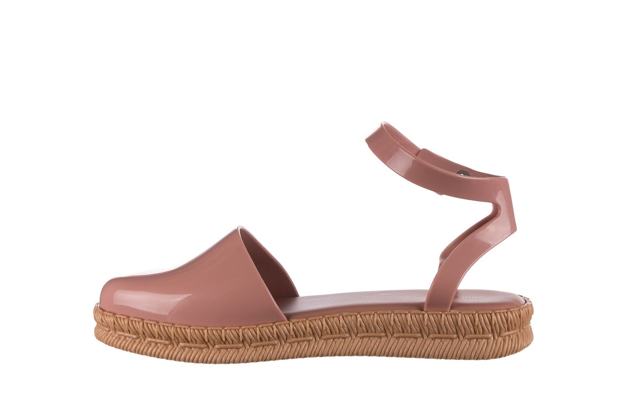 Sandały melissa espadrille + jason wu ad pink beige, róż, guma - melissa - nasze marki 7