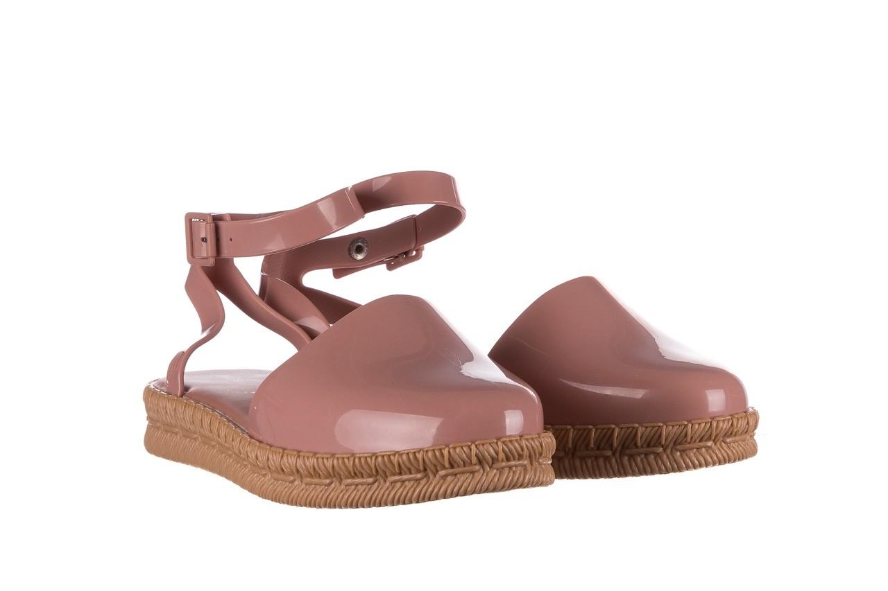 Sandały melissa espadrille + jason wu ad pink beige, róż, guma - melissa - nasze marki 6