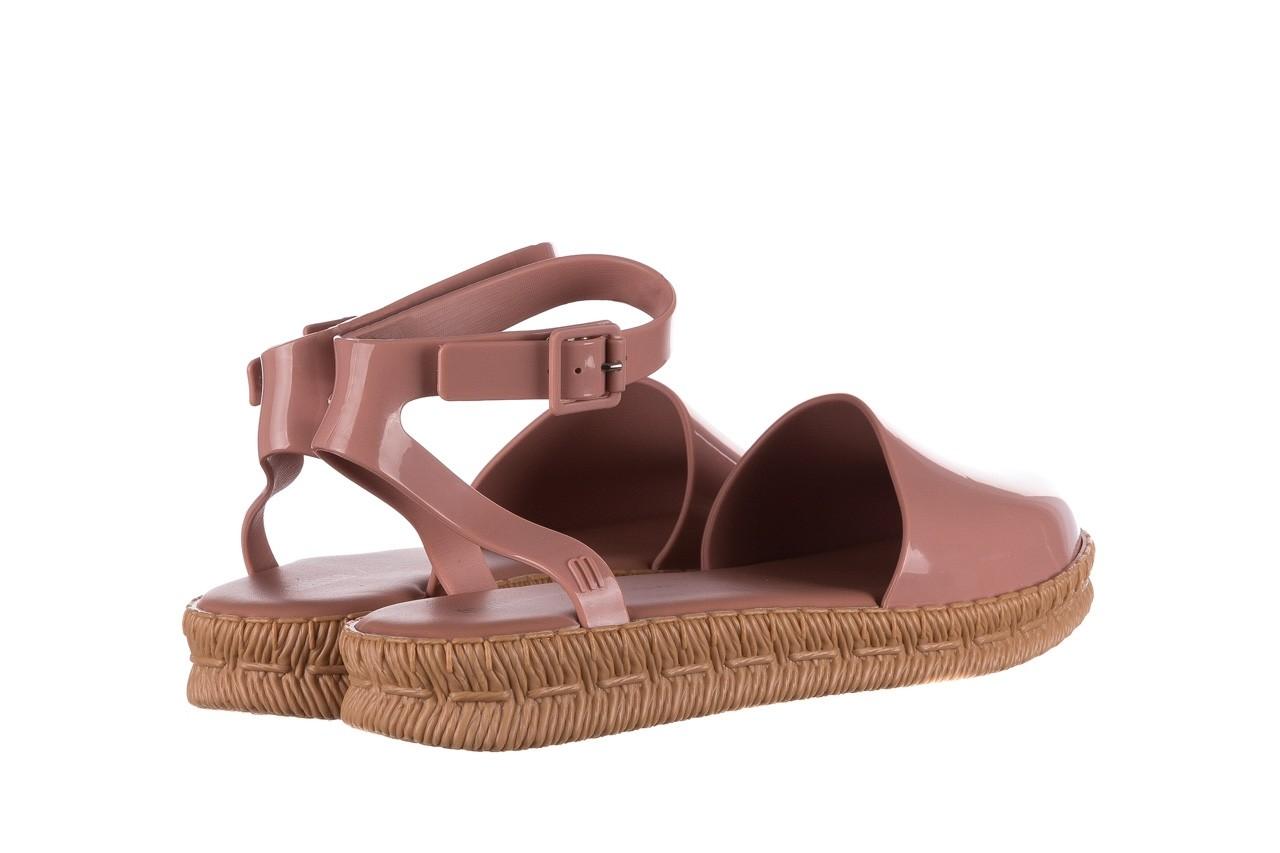 Sandały melissa espadrille + jason wu ad pink beige, róż, guma - melissa - nasze marki 8