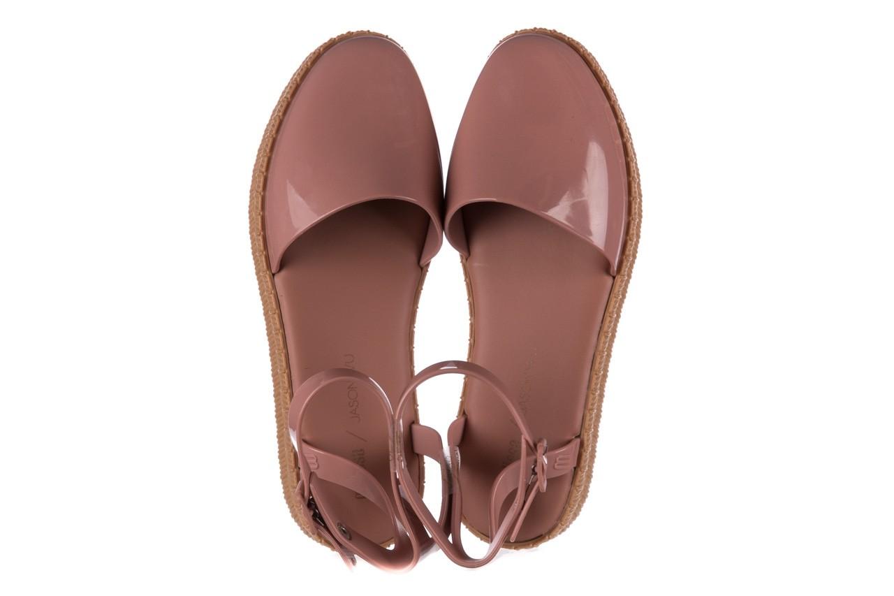 Sandały melissa espadrille + jason wu ad pink beige, róż, guma - melissa - nasze marki 9