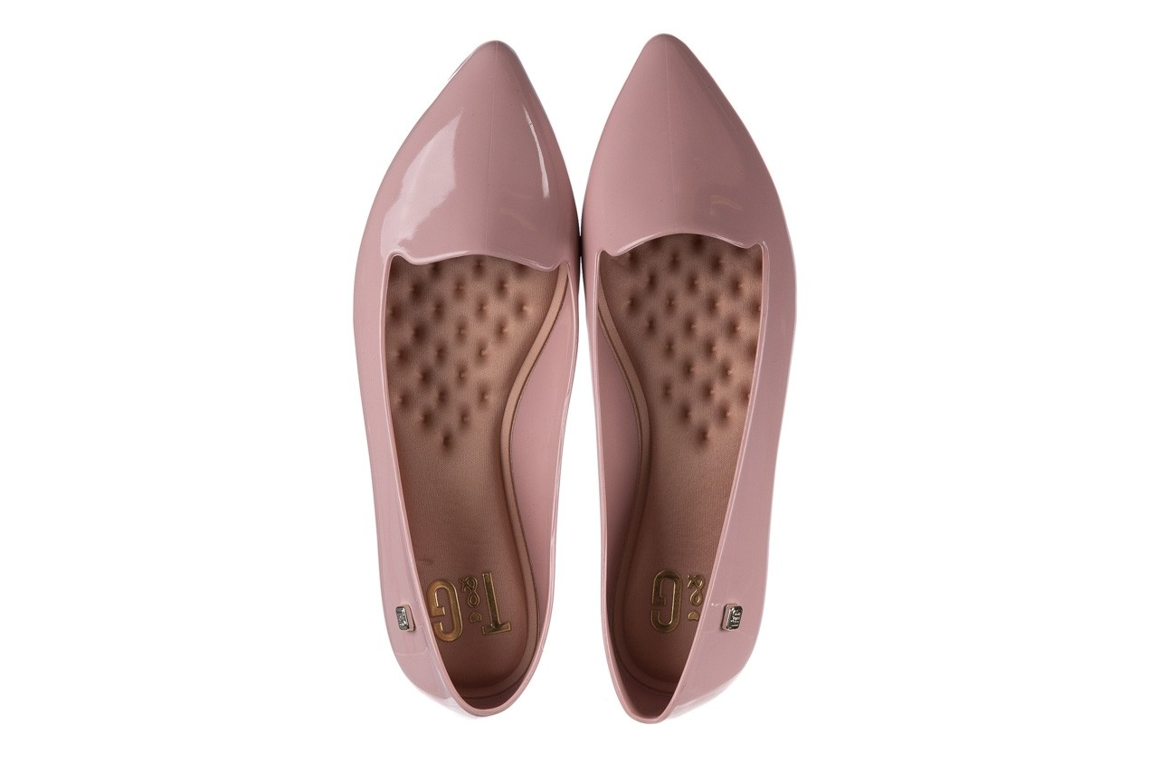 Baleriny t&g fashion 22-1444999 rosa, róż, guma - baleriny - dla niej  - sale 11