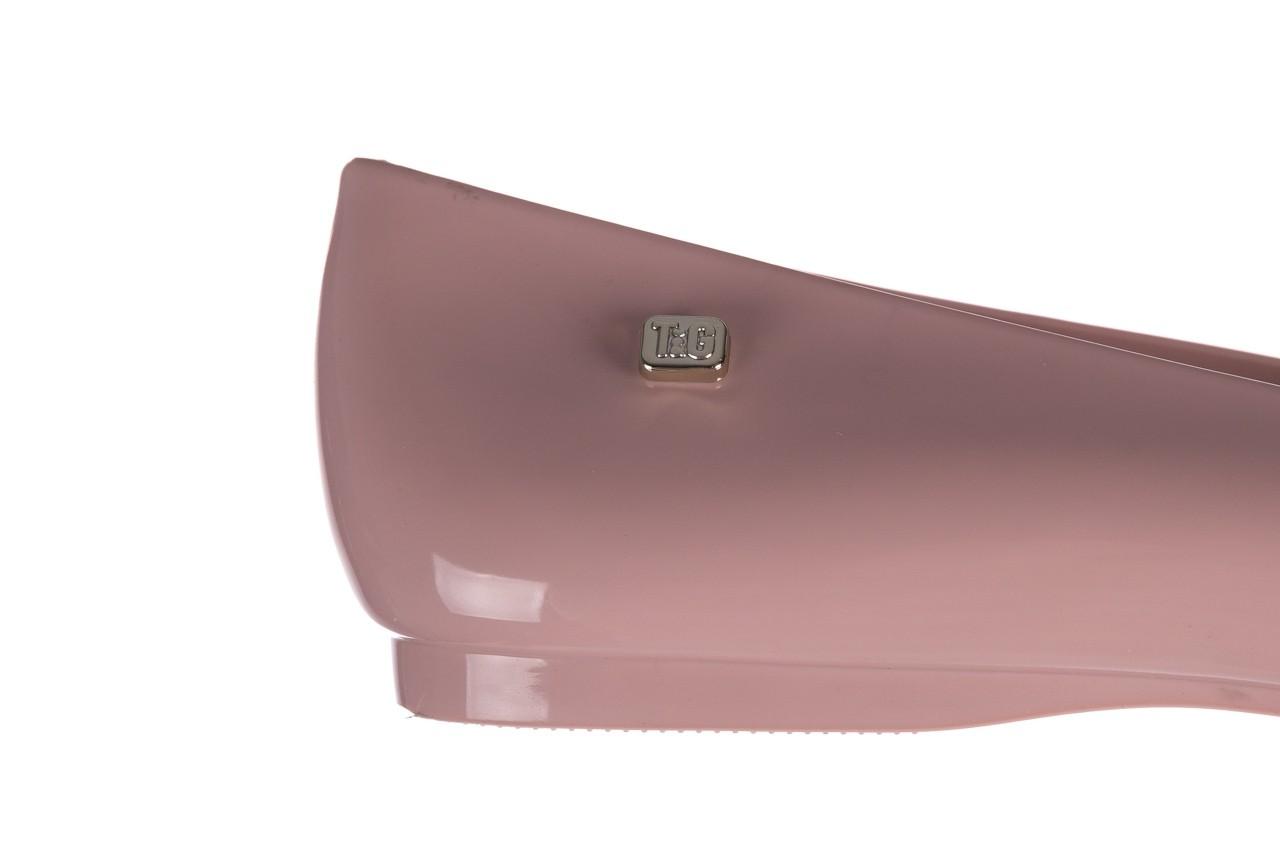 Baleriny t&g fashion 22-1444999 rosa, róż, guma - baleriny - dla niej  - sale 13
