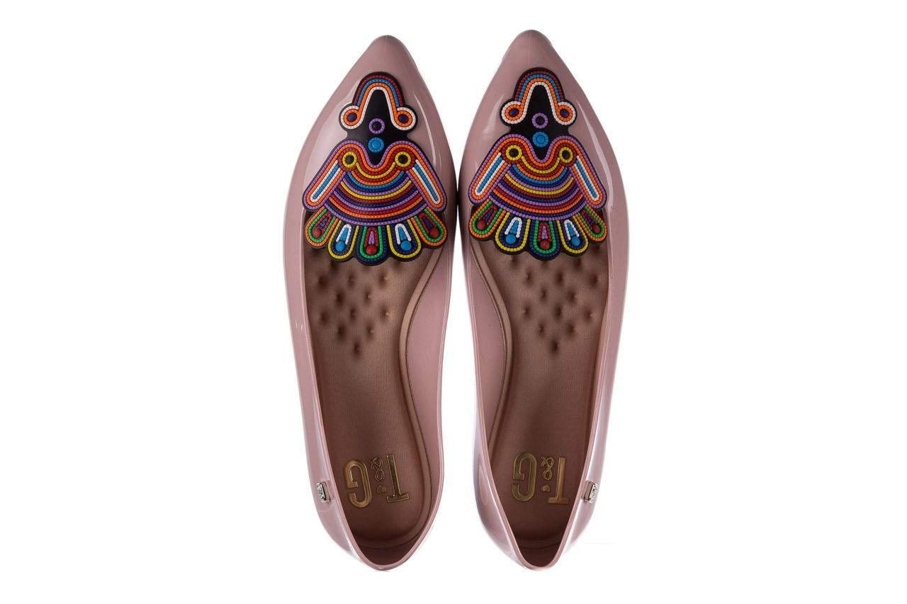 Baleriny t&g fashion 22-1444998 rosa, róż, guma - tg - nasze marki 11
