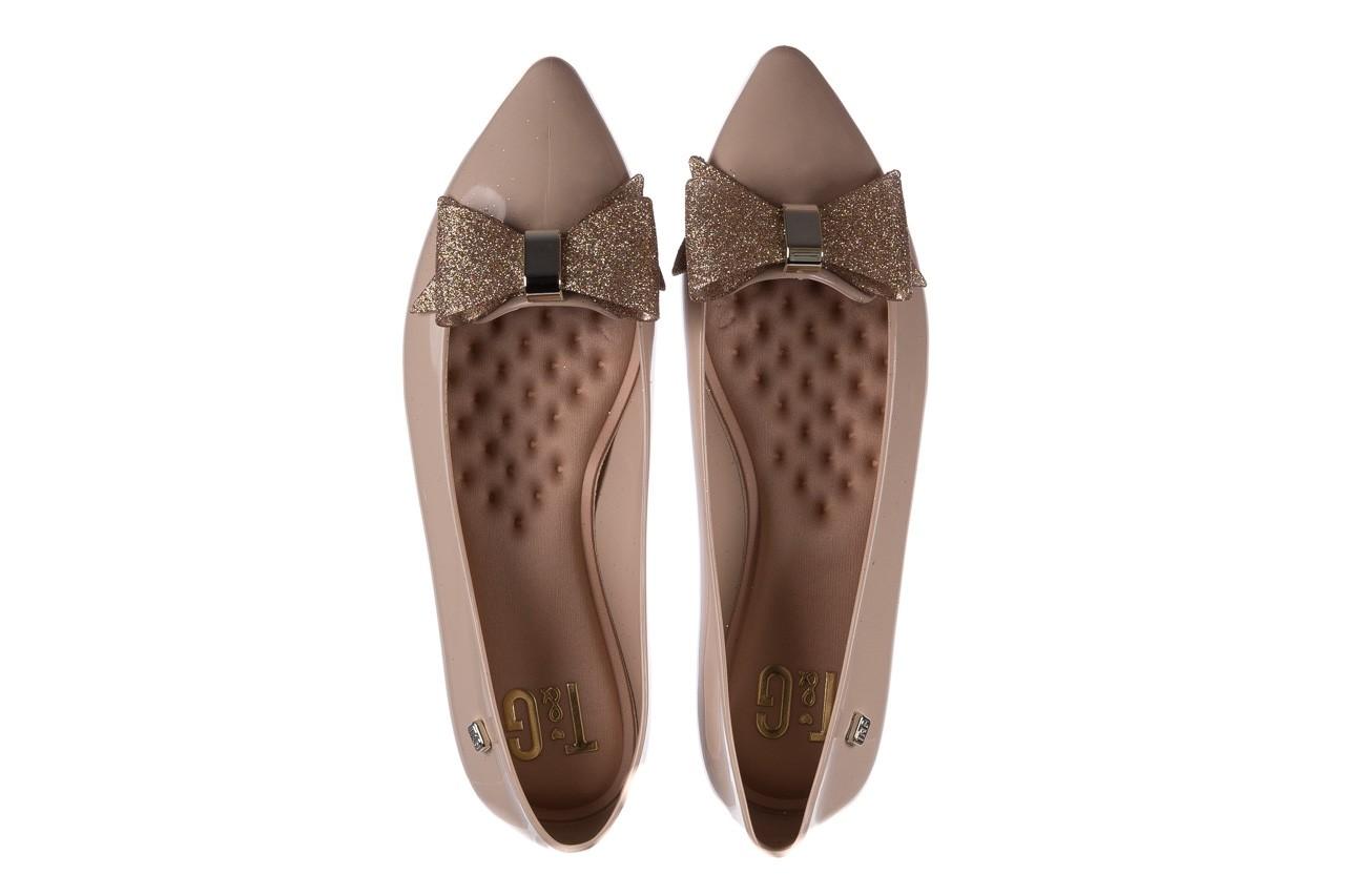 Baleriny t&g fashion 22-1448315 nude, beż, guma - tg - nasze marki 11