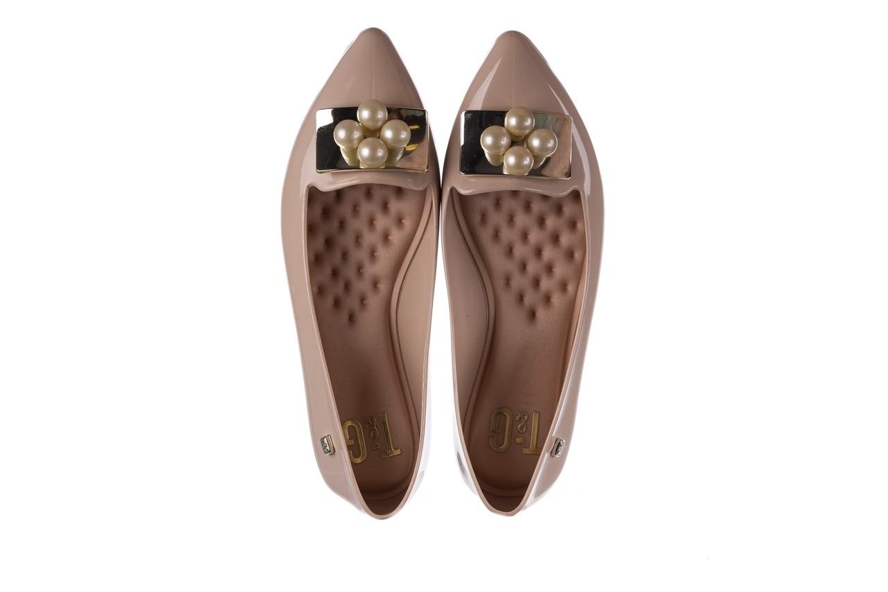 Baleriny t&g fashion 22-1448846 nude, beż, guma 11