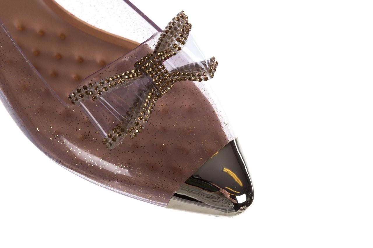 Baleriny t&g fashion 22-1444997 ouro, złoty, guma - tg - nasze marki 12