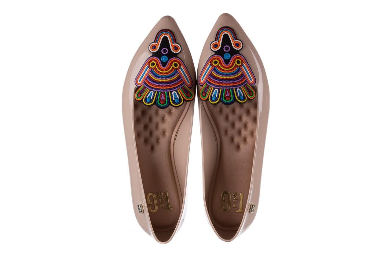 Baleriny t&g fashion 22-1444998 nude, beż, guma - tg - nasze marki 11