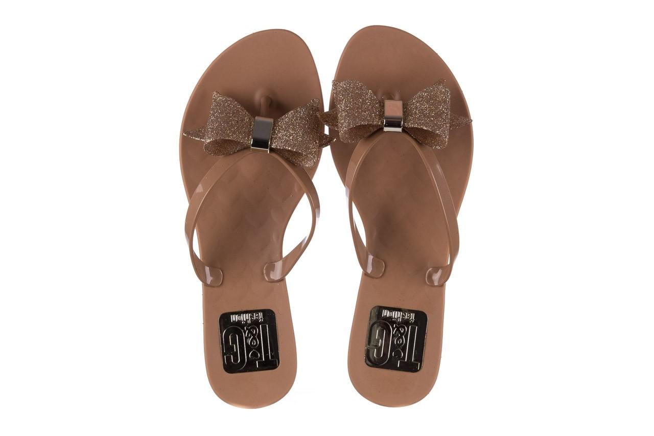 Klapki t&g fashion 22-1368315 camel, brąz, guma - tg - nasze marki 11