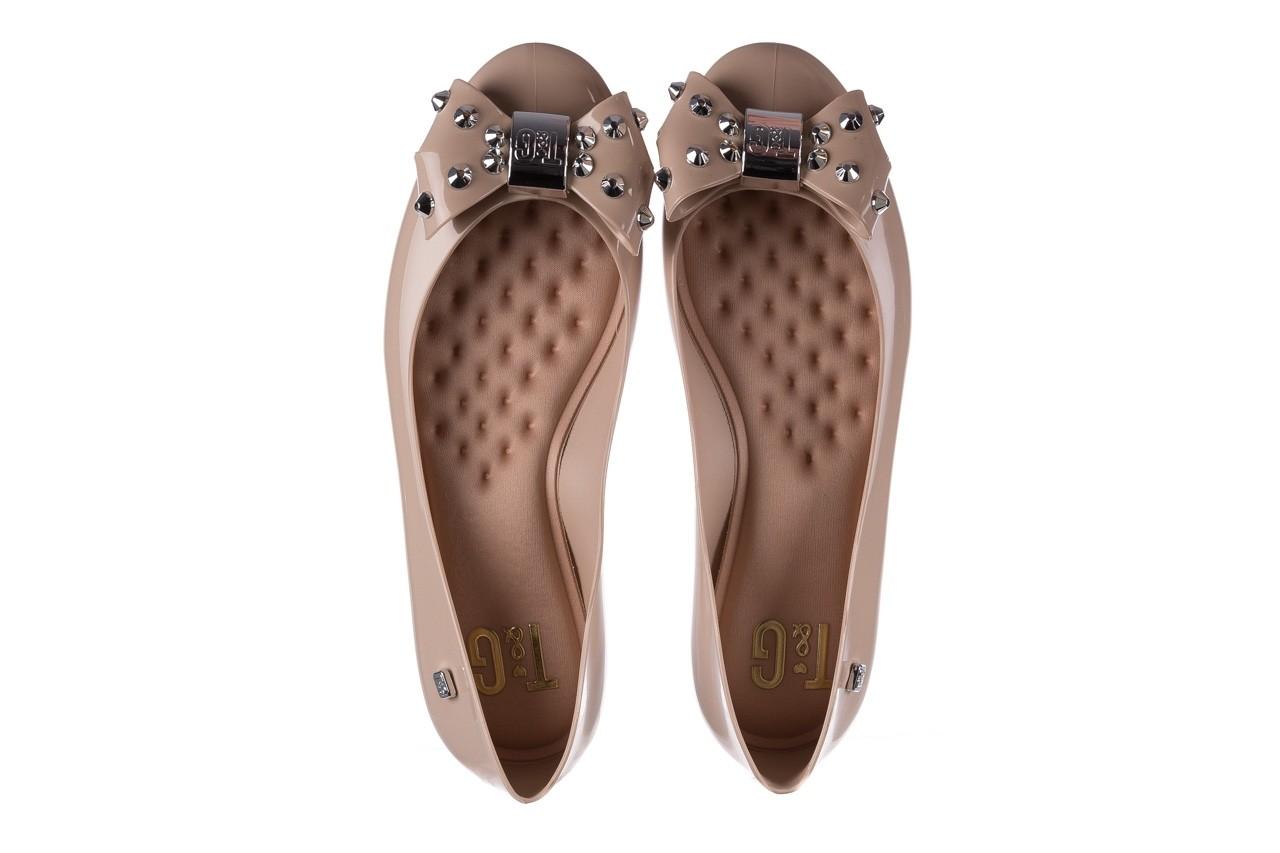 Baleriny t&g fashion 22-1458679 nude, beż, guma - baleriny - dla niej  - sale 11
