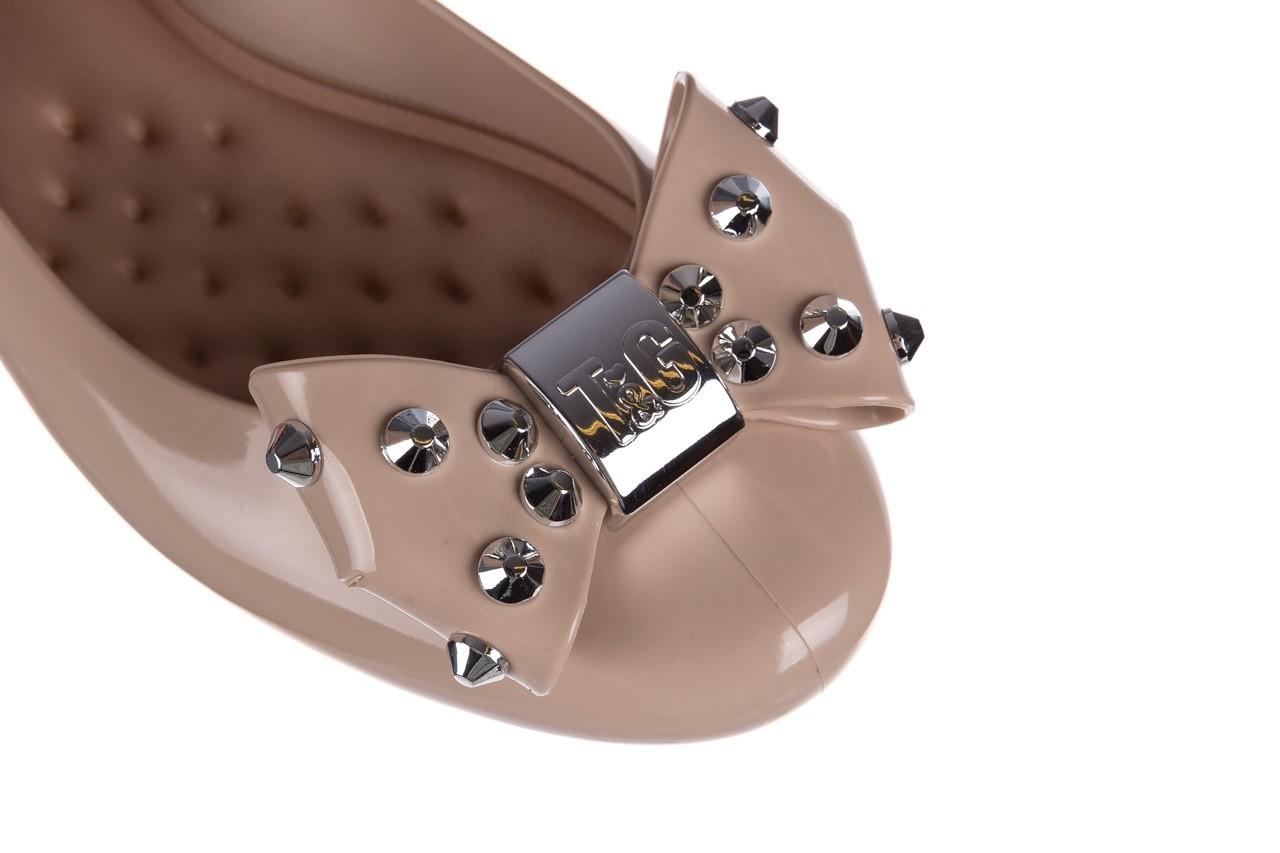 Baleriny t&g fashion 22-1458679 nude, beż, guma - baleriny - dla niej  - sale 12