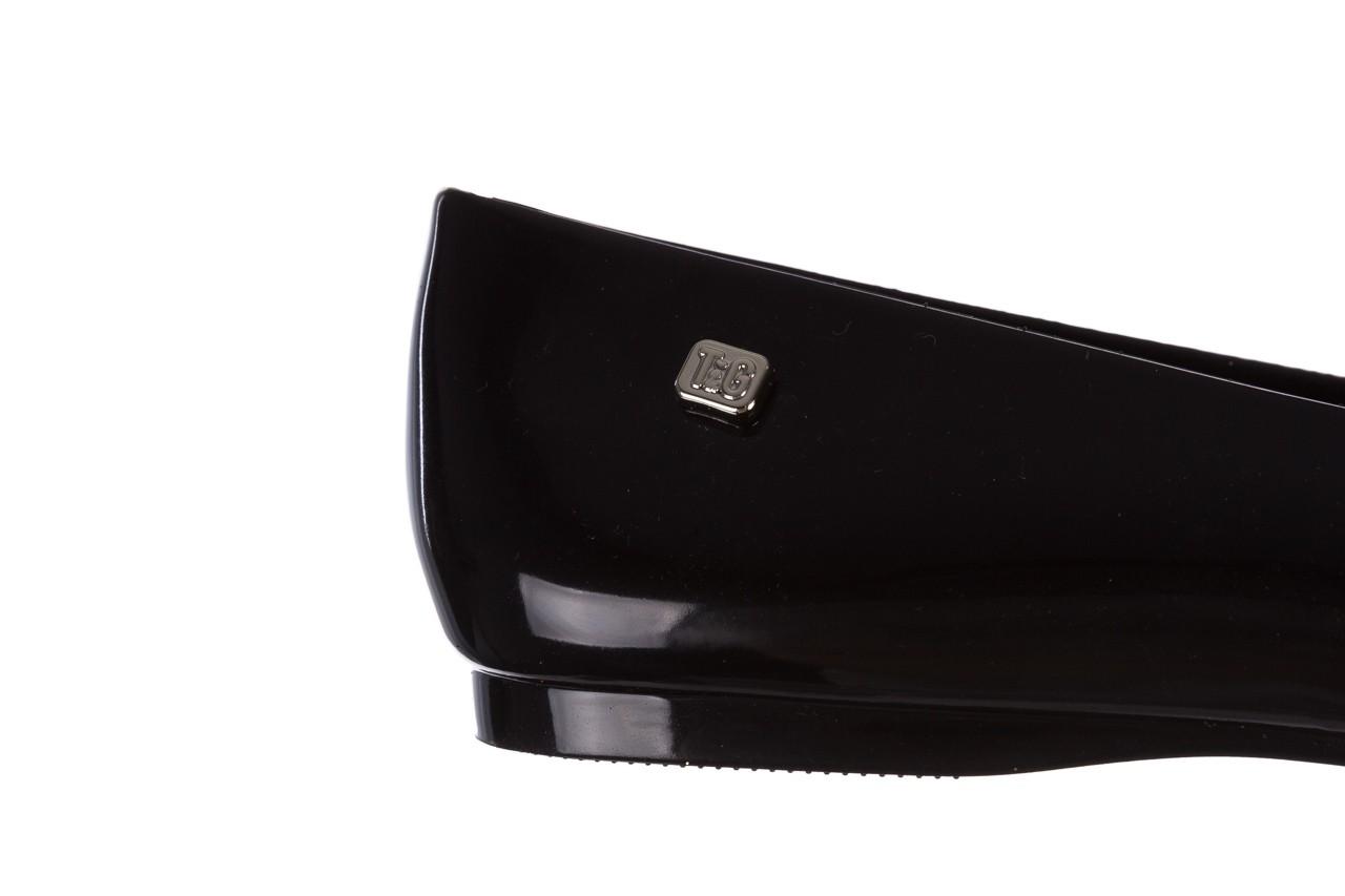 Baleriny t&g fashion 22-1448315 preto, czarny, guma 13