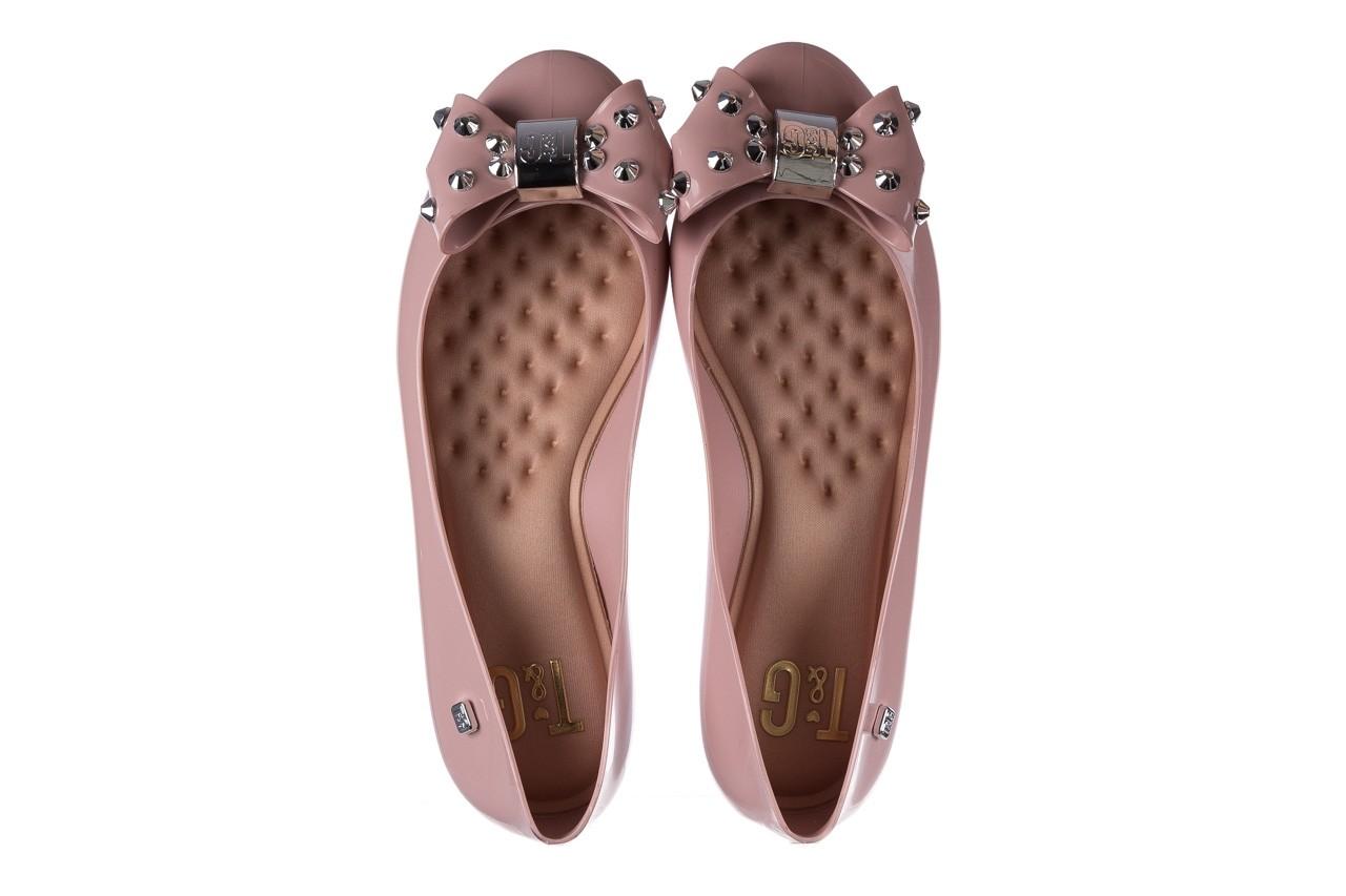Baleriny t&g fashion 22-1458679 rosa, róż, guma - tg - nasze marki 11