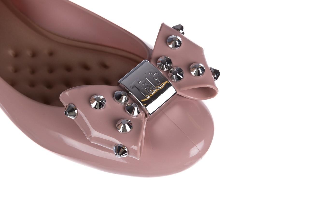 Baleriny t&g fashion 22-1458679 rosa, róż, guma - tg - nasze marki 12