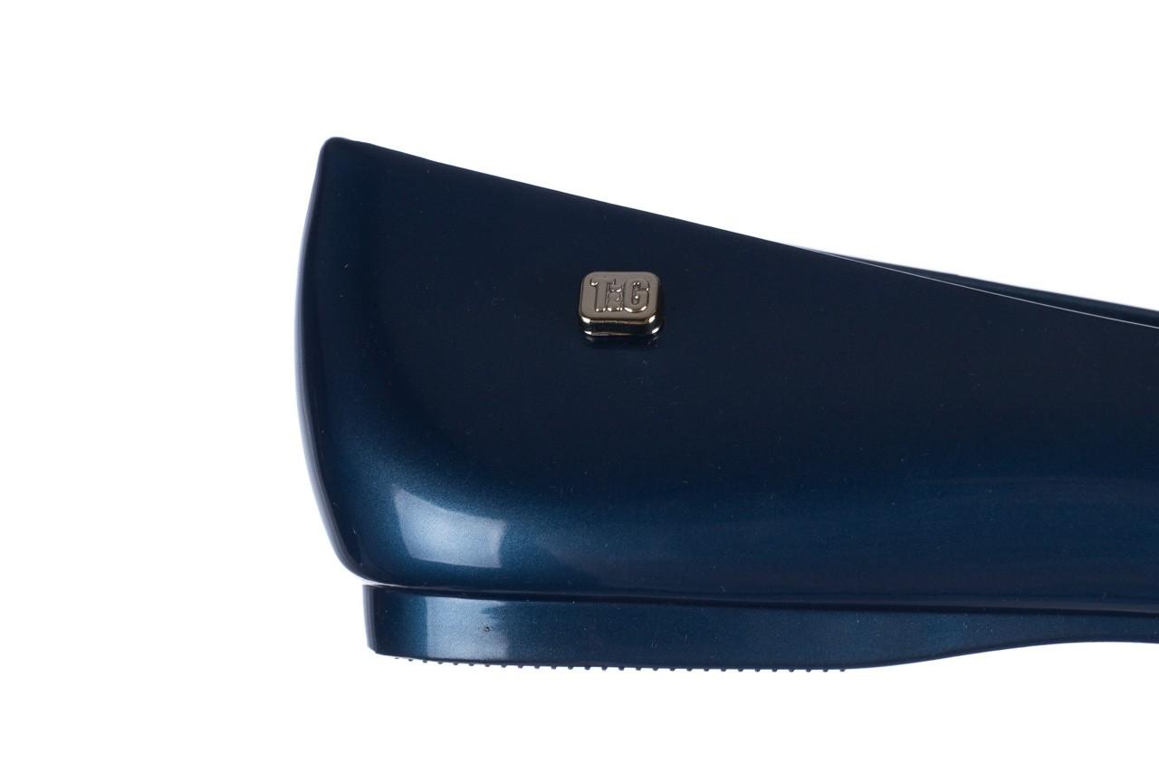 Baleriny t&g fashion 22-1448846 azul nautico, niebieski, guma - tg - nasze marki 13