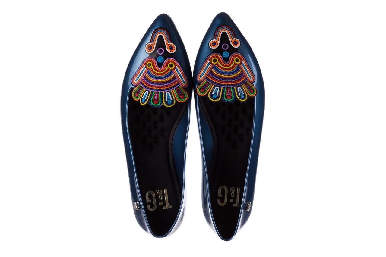 Baleriny t&g fashion 22-1444998 azul nautico, niebieski, guma - tg - nasze marki 11