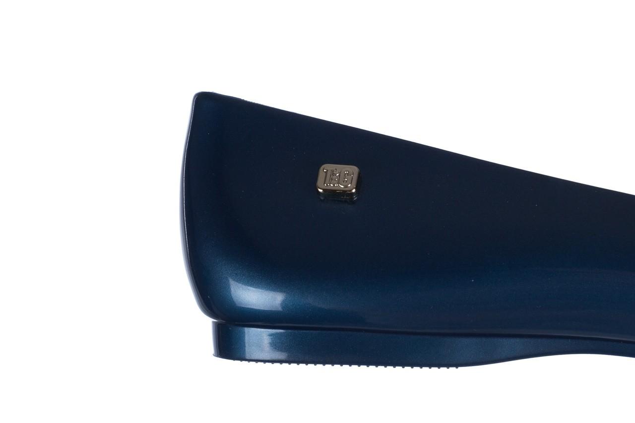 Baleriny t&g fashion 22-1444998 azul nautico, niebieski, guma - tg - nasze marki 13