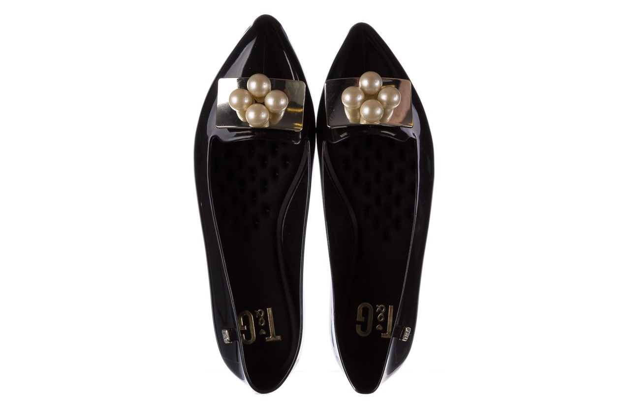 Baleriny t&g fashion 22-1448846 black, czarny, guma - tg - nasze marki 11