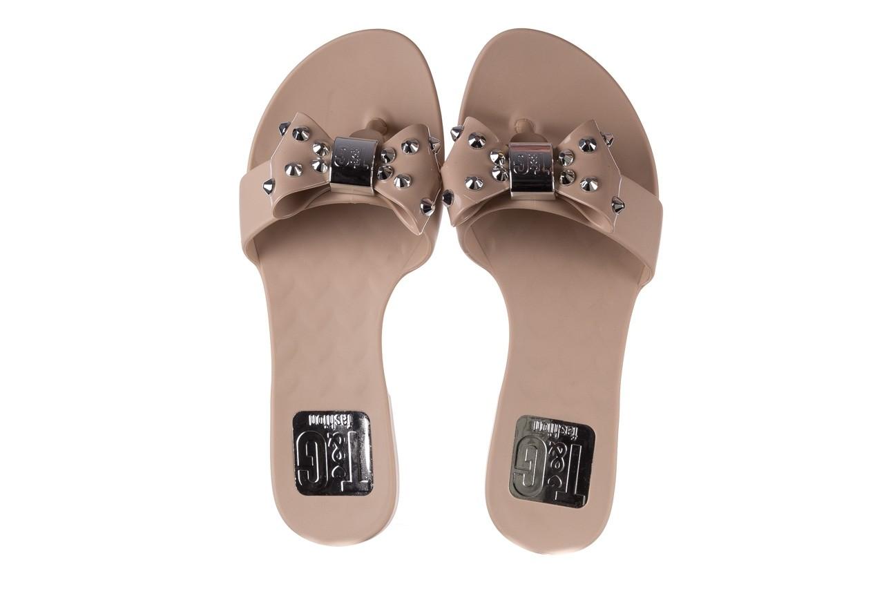 Klapki t&g fashion 22-1348679 nude, beż, guma - tg - nasze marki 11