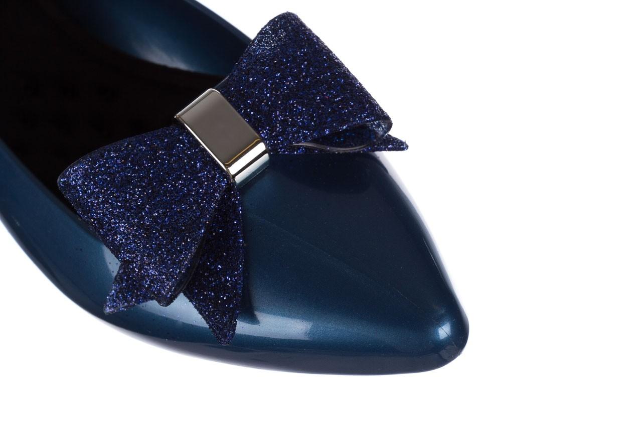Baleriny t&g fashion 22-1448315 azul nautico, niebieski, guma - baleriny - dla niej  - sale 12
