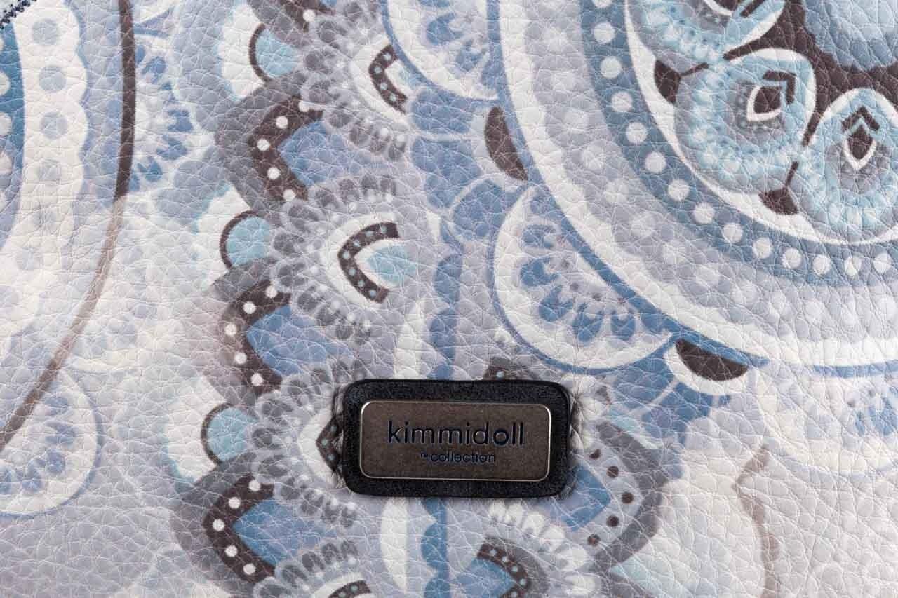 Plecak kimmidoll 28625-01 niebieski, skóra ekologiczna  - kimmidoll - nasze marki 8