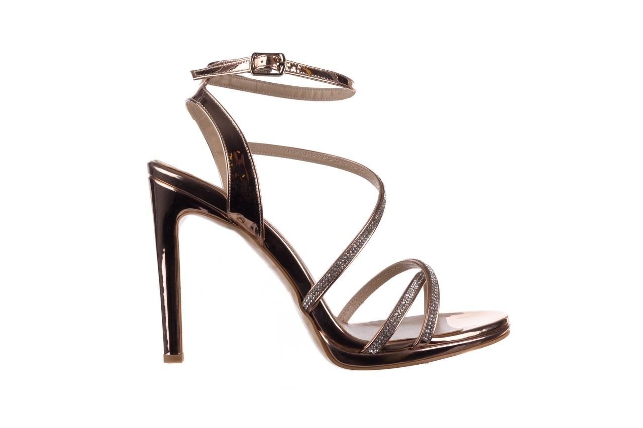 Sandały bayla-187 589-9078 róż j, skóra ekologiczna  - na obcasie - sandały - buty damskie - kobieta 7