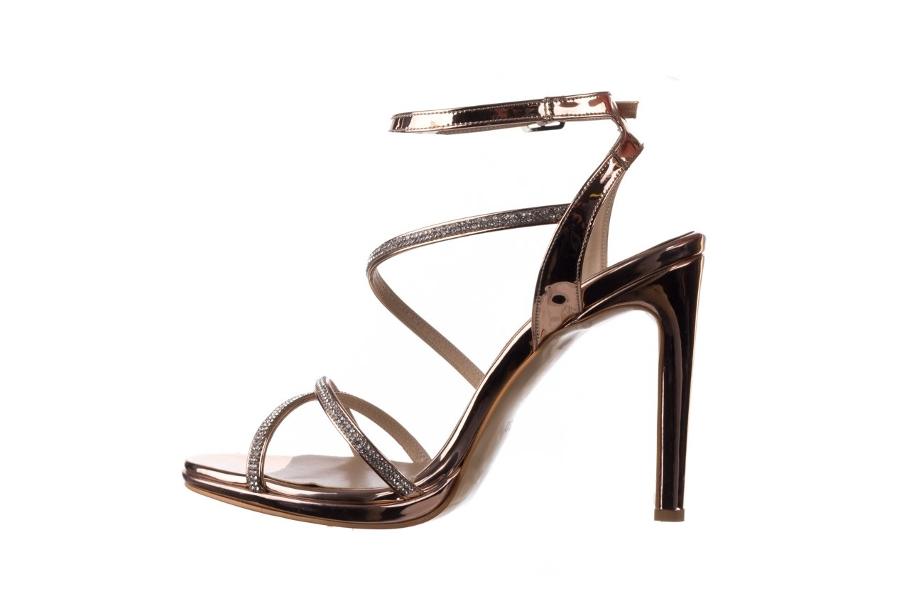 Sandały bayla-187 589-9078 róż j, skóra ekologiczna  - na obcasie - sandały - buty damskie - kobieta 9