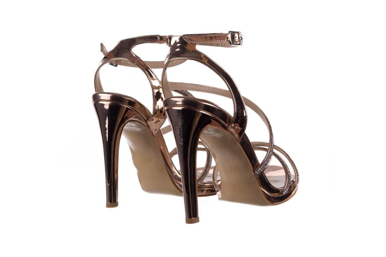 Sandały bayla-187 589-9078 róż j, skóra ekologiczna  - na obcasie - sandały - buty damskie - kobieta 10