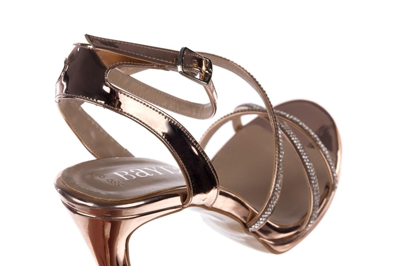 Sandały bayla-187 589-9078 róż j, skóra ekologiczna  - na obcasie - sandały - buty damskie - kobieta 12