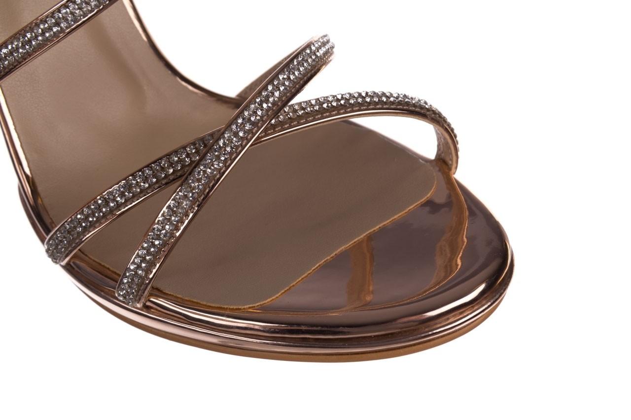 Sandały bayla-187 589-9078 róż j, skóra ekologiczna  - na obcasie - sandały - buty damskie - kobieta 13