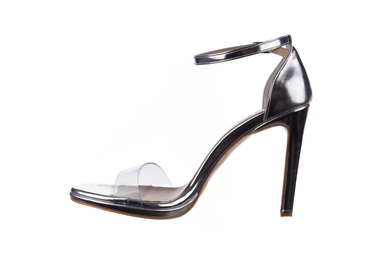 Sandały bayla-187 589-571 srebro, skóra ekologiczna  - na szpilce - sandały - buty damskie - kobieta 9