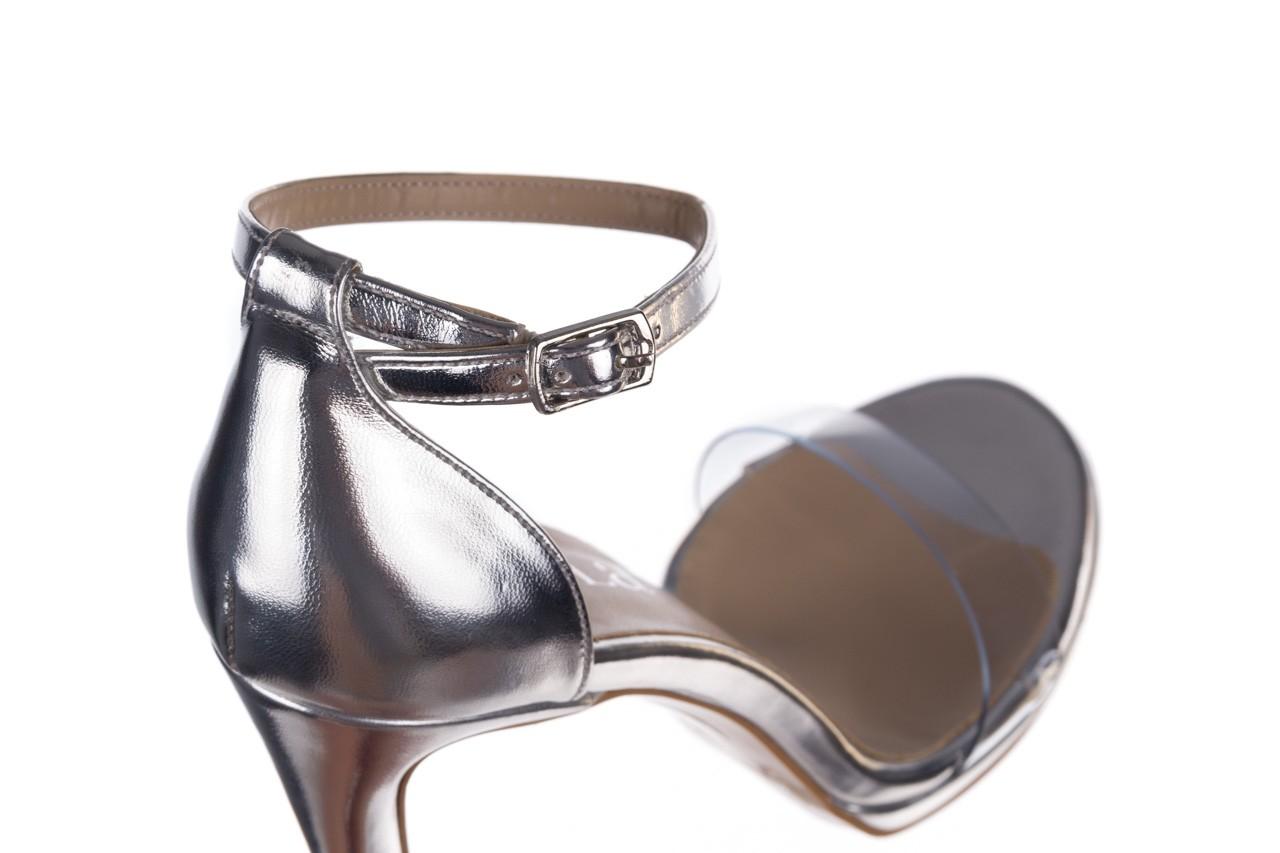 Sandały bayla-187 589-571 srebro, skóra ekologiczna  - bayla - nasze marki 13