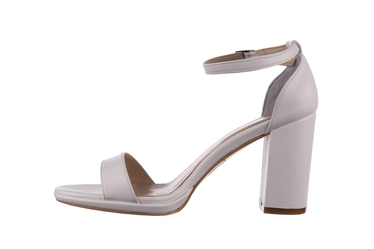 Sandały bayla-187 587-571 biały, skóra ekologiczna  - peep toe - czółenka - buty damskie - kobieta 9