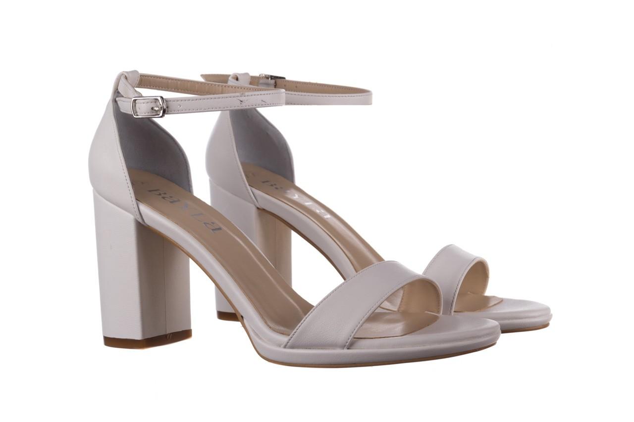 Sandały bayla-187 587-571 biały, skóra ekologiczna  - peep toe - czółenka - buty damskie - kobieta 8