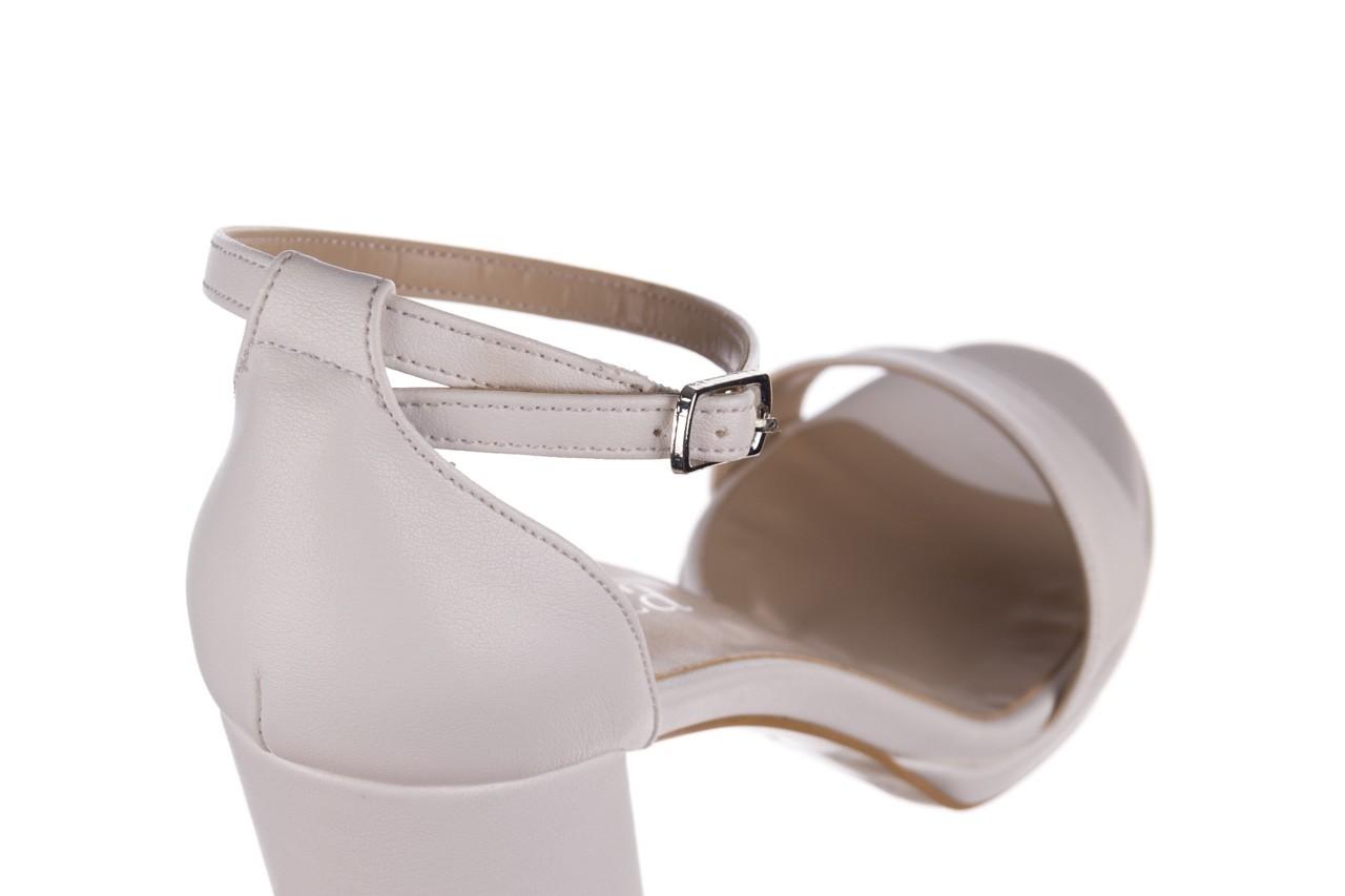 Sandały bayla-187 587-571 biały, skóra ekologiczna  - peep toe - czółenka - buty damskie - kobieta 12