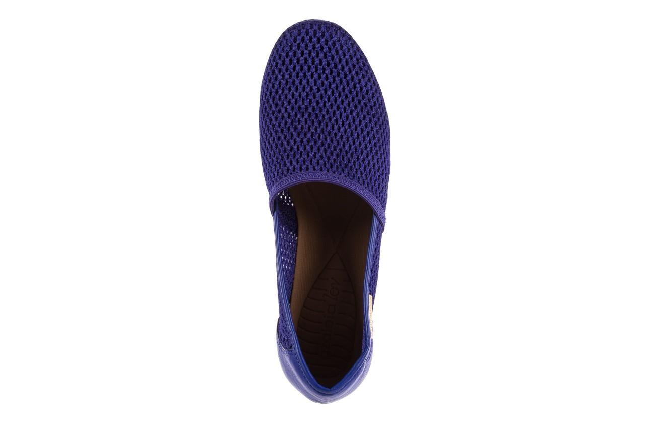 Półbuty azaleia 622 228 royal blue, granat, materiał  - azaleia - nasze marki 10