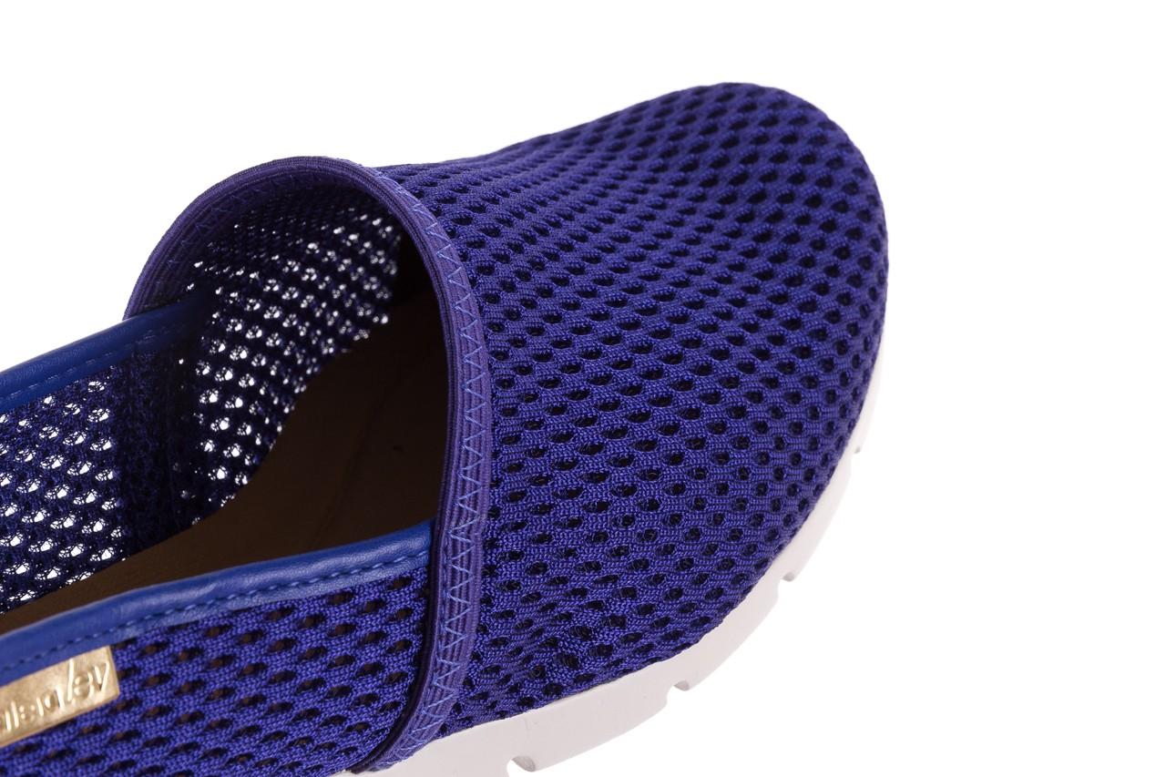 Półbuty azaleia 622 228 royal blue, granat, materiał  - azaleia - nasze marki 11