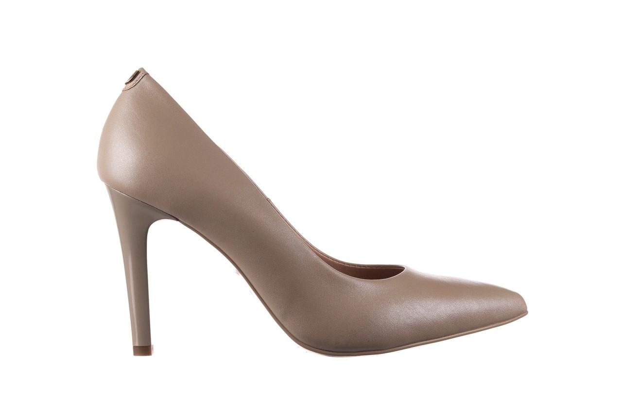 Szpilki bayla-056 9116-1461 beż perła, skóra naturalna  - skórzane - szpilki - buty damskie - kobieta 5