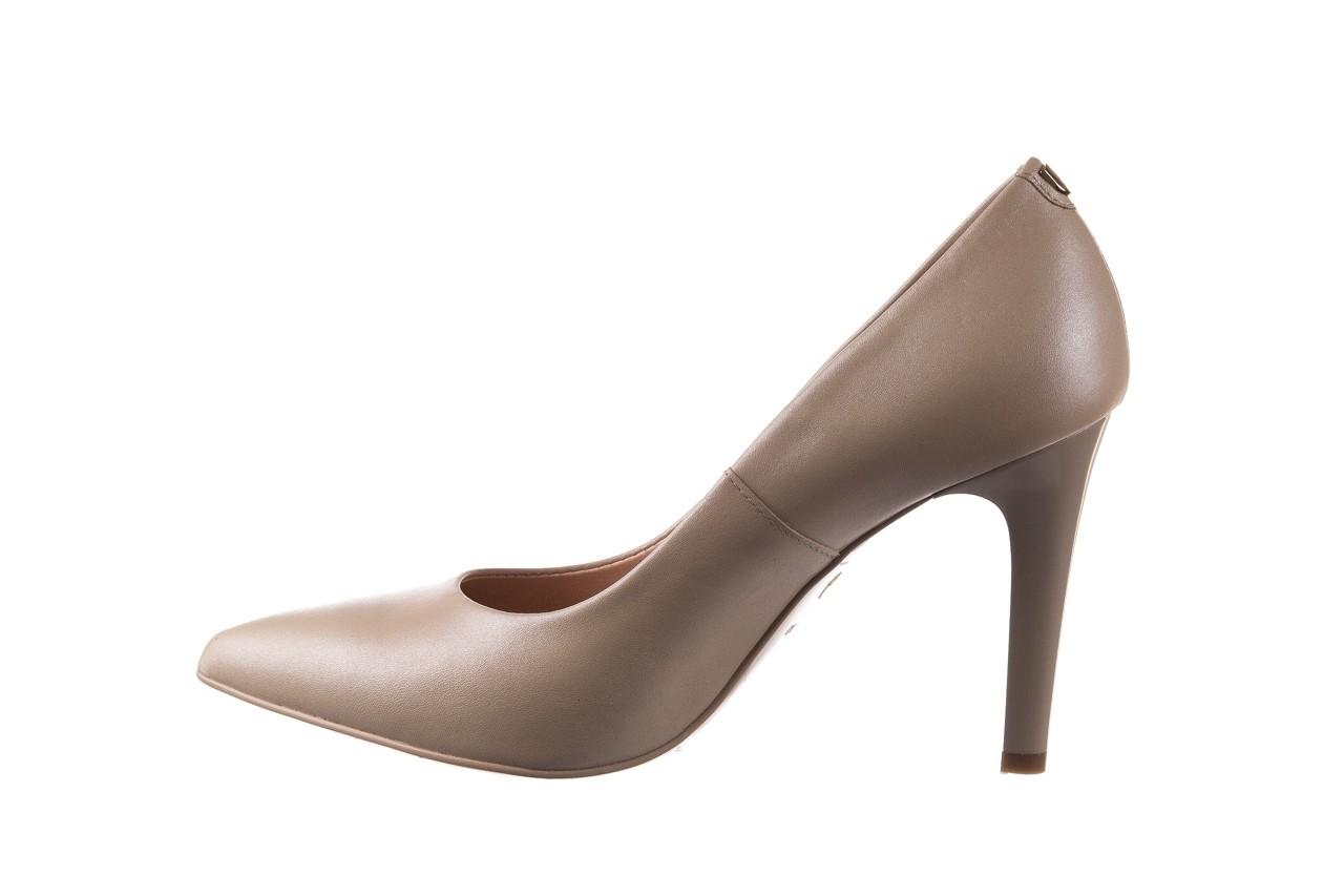 Szpilki bayla-056 9116-1461 beż perła, skóra naturalna  - skórzane - szpilki - buty damskie - kobieta 7