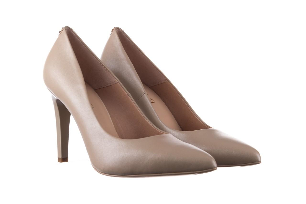 Szpilki bayla-056 9116-1461 beż perła, skóra naturalna  - skórzane - szpilki - buty damskie - kobieta 6