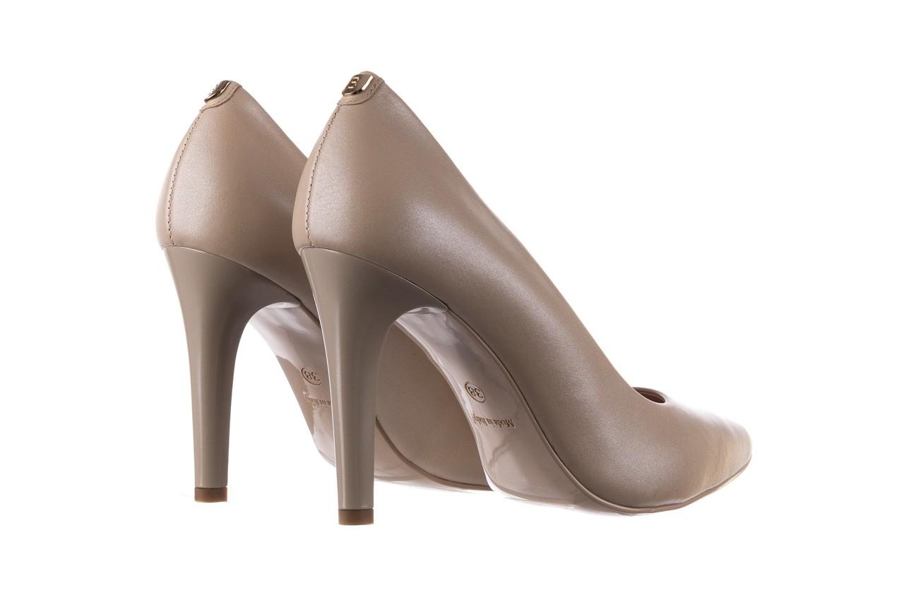 Szpilki bayla-056 9116-1461 beż perła, skóra naturalna  - skórzane - szpilki - buty damskie - kobieta 8